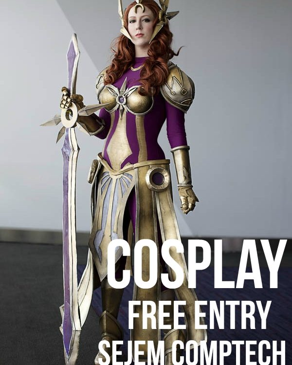 cosplay free entry